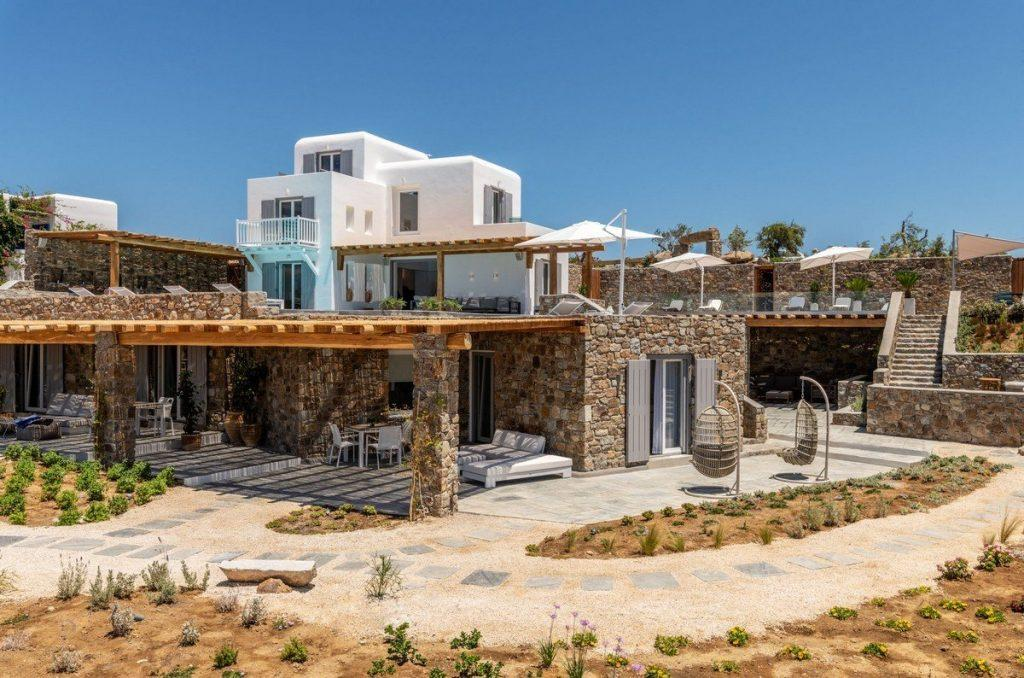 view of whitewashed villa with outdoor space
