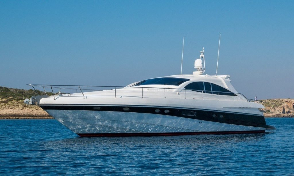 Pershing 65, Express, exterior, port, deck, sea, bay