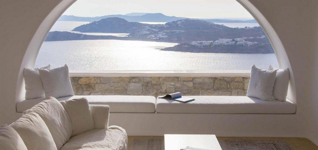 ideal place to enjoy the sea view and read a good book