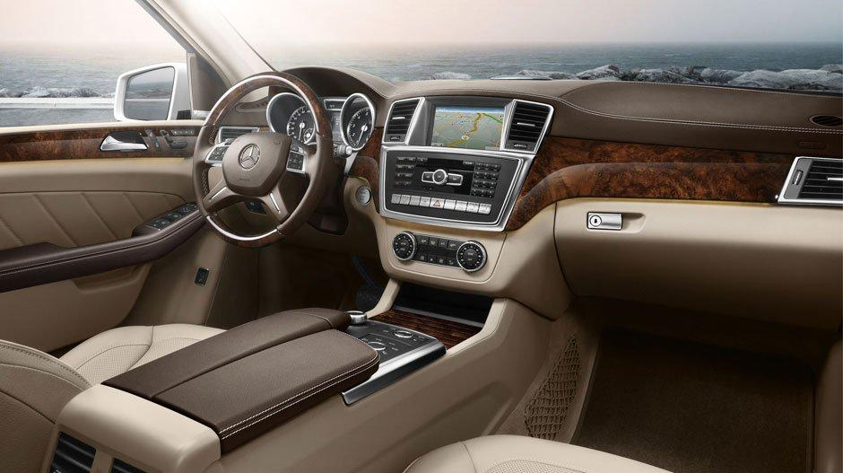 Mercedes GL500 AMG Interior 1st picture