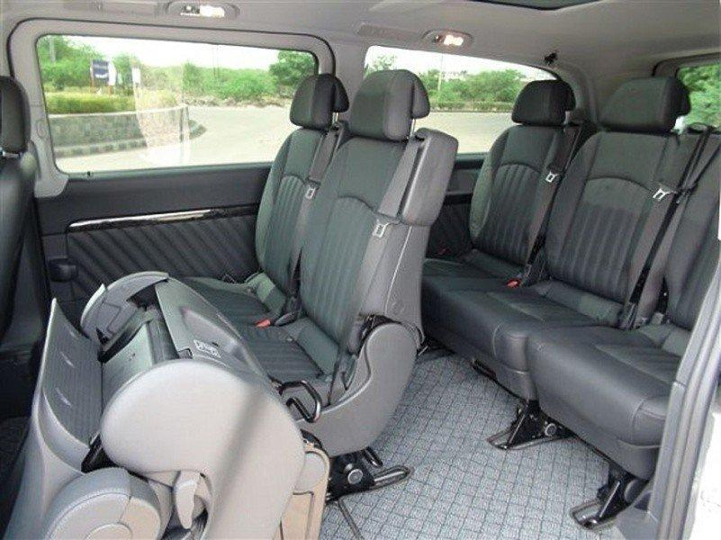 van with spacious back and comfort seats