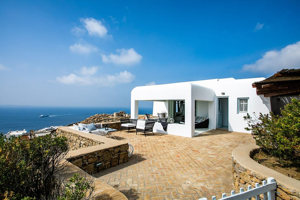 Villa Grace Agios Stefanos Mykonos Outdoors 4