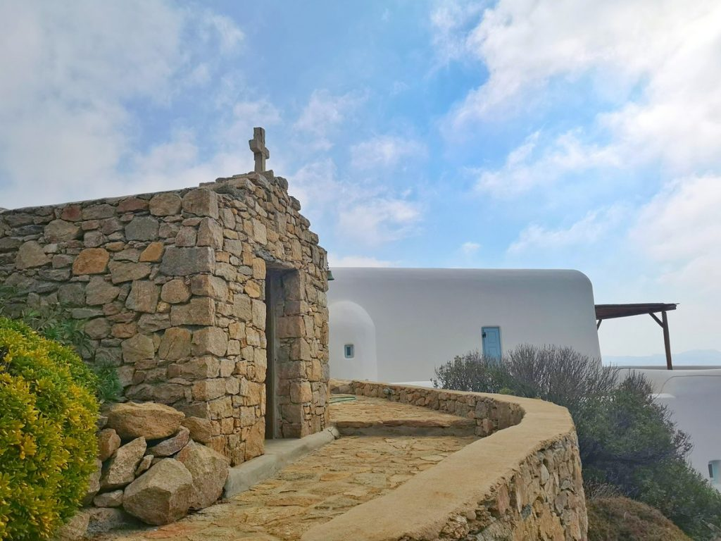 Villa Grace Agios Stefanos Mykonos Outdoors