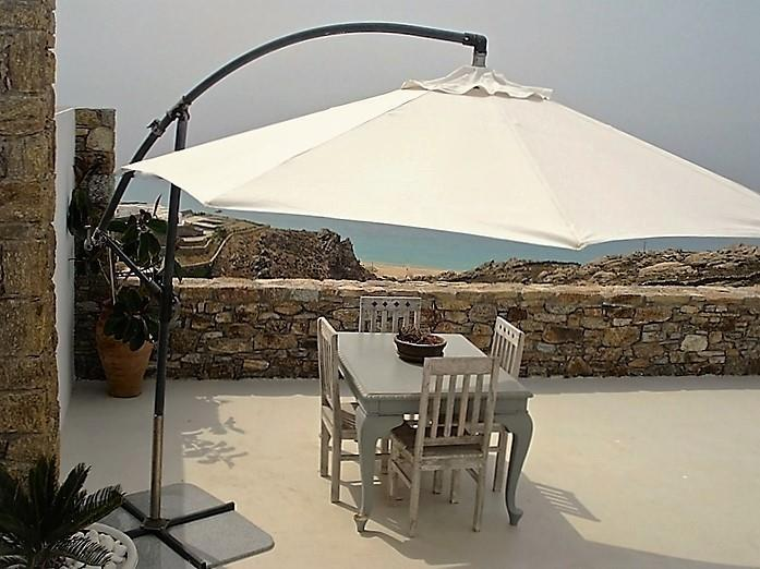 Villa Peridot Elia Mykonos outdoors with the panoramic view