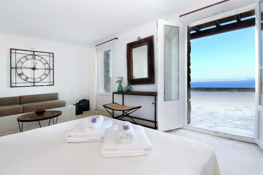 Villa Jennifer Fanari Mykonos 1st Bedroom