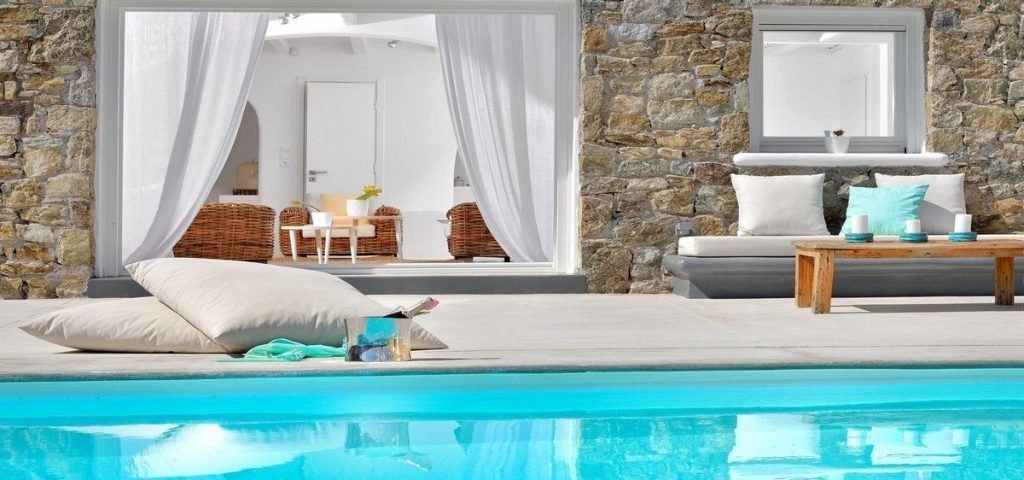 Villa Nea Kanalia Mykonos swimming pool