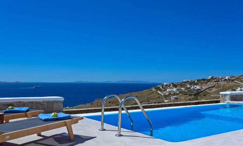 Villa_Apollo_12.jpg Choulakia Mykonos Outdoor, pool, climbers, towels, sea, sky, boat