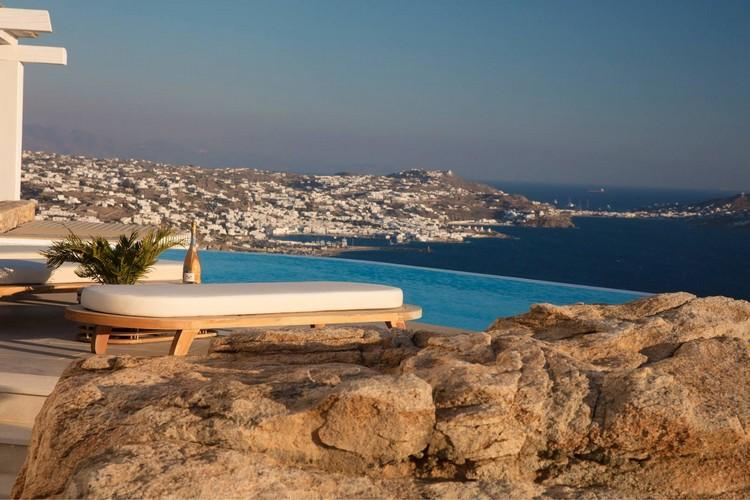Villa_Nika_10.jpg Tourlos Mykonos Outdoor, pool, climbers, sea, sky