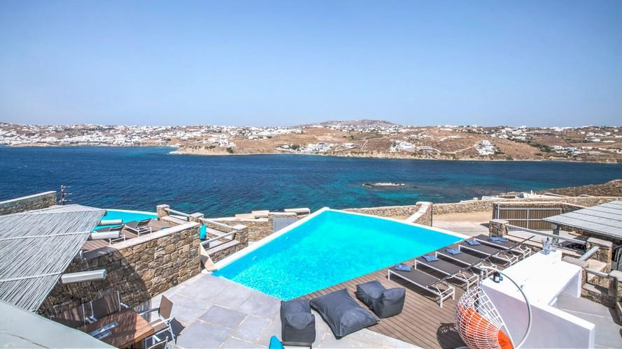 Villa_Rina_21.jpg Kanalia Mykonos Outdoor, pool, climbers, roof, sea, sky, hill