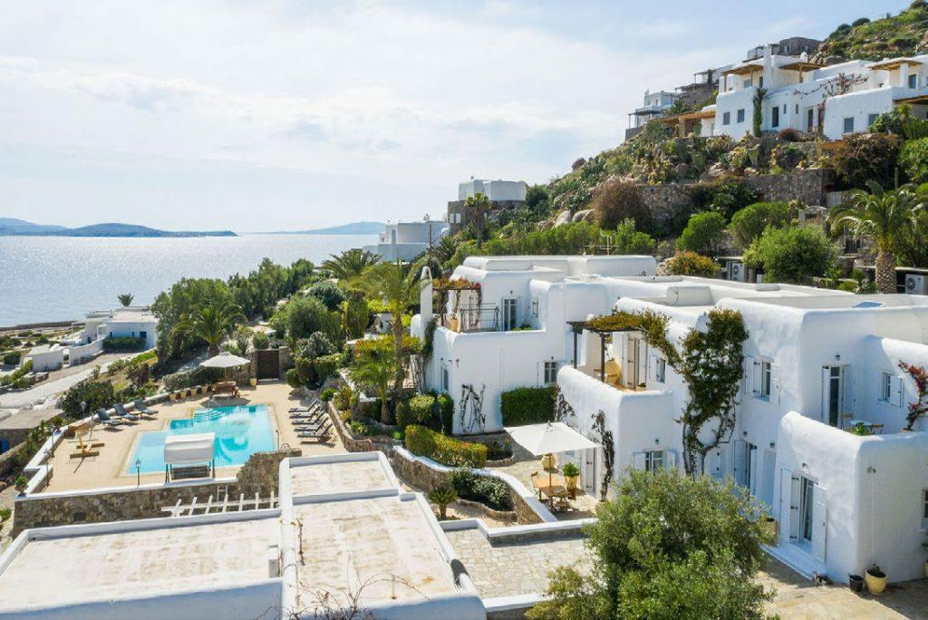view on white wall villa and what it offers