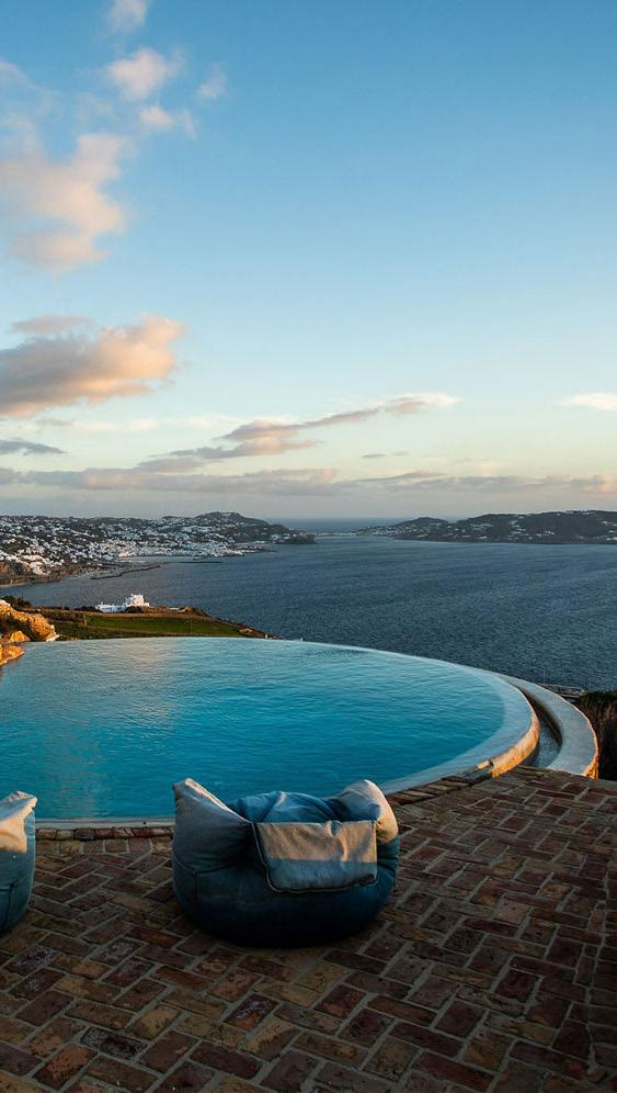 Villa-Greta_46.jpg Tourlos Mykonos Outdoor, pool, sea, sky, climbers