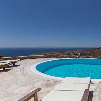 perfect place by the pool with climbers and satisfying horizon view