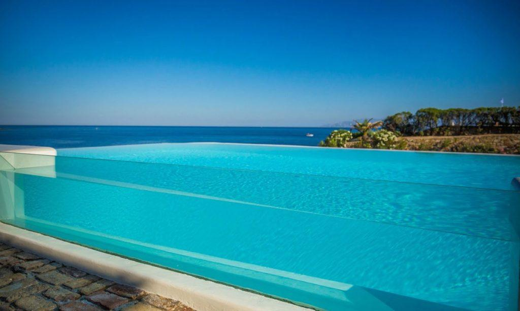 Villa Aggie I Paraga, Mykonos, Pool, Sea view, Plants