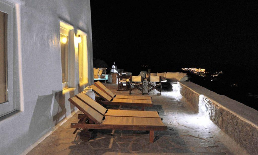Villa-Ramsey-_12.jpg Halara Mykonos, outdoor, climbers, night, lights