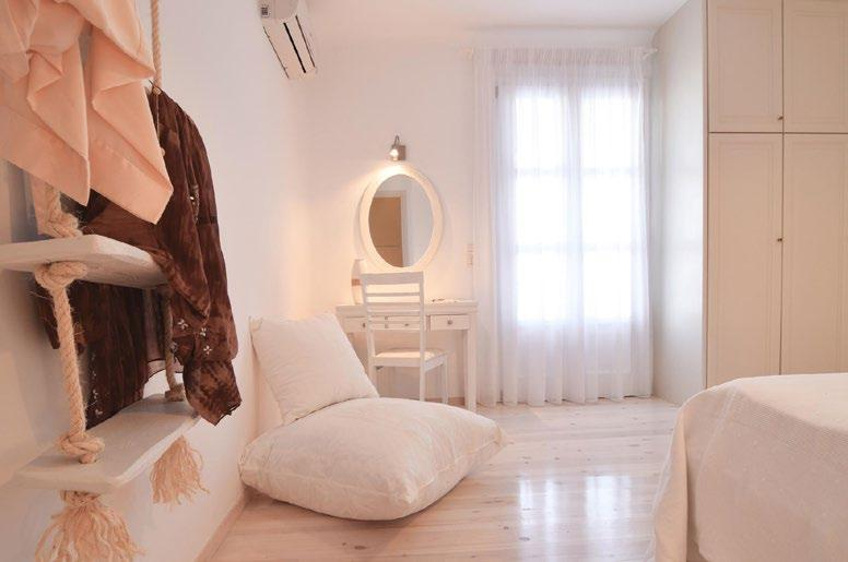 room with daylight dimmed by curtains and huge cabin