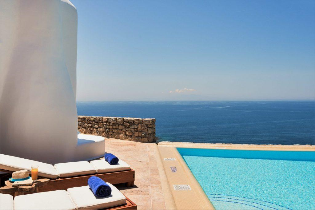 perfect place with a perfect view to throw a party for friends and family