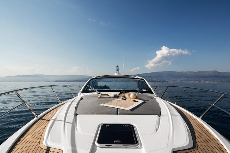 Yacht_Azimut43_08.jpg Mykonos Exterior, boat, pillow, sea, sky, hill, window