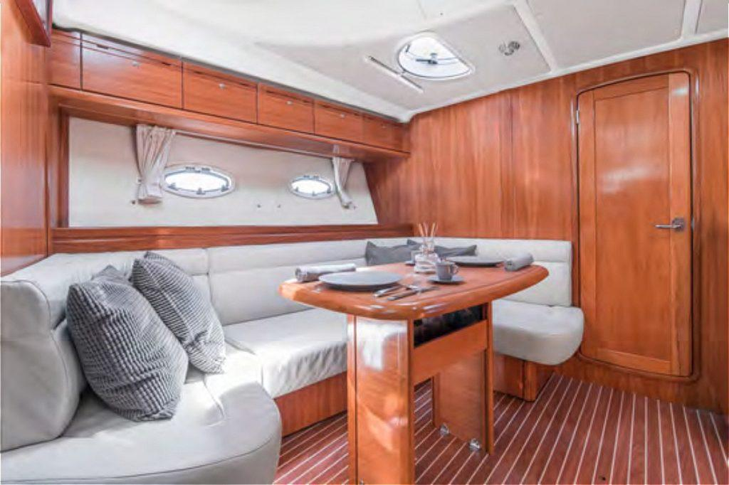 bavaria 37 interior