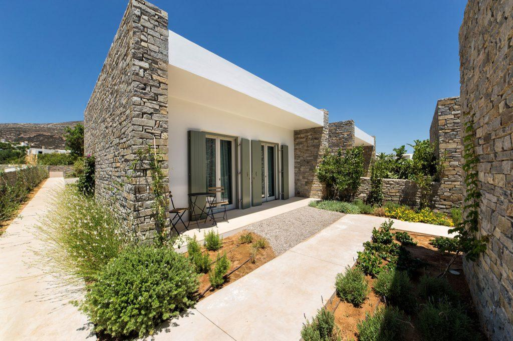 outlook of villa exterior with greenery