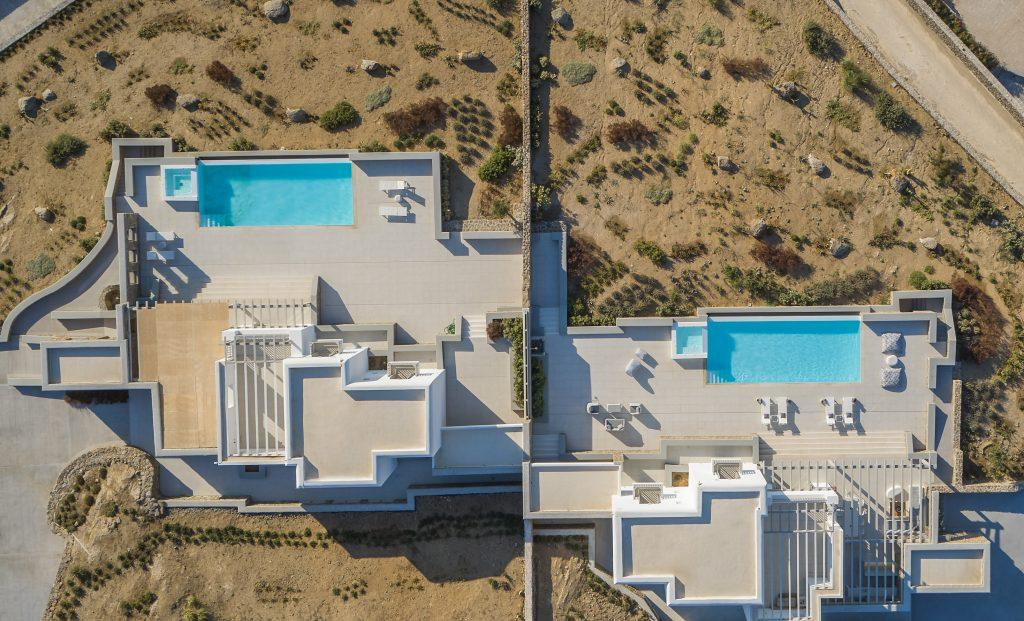 multi level villa with interests on each floor