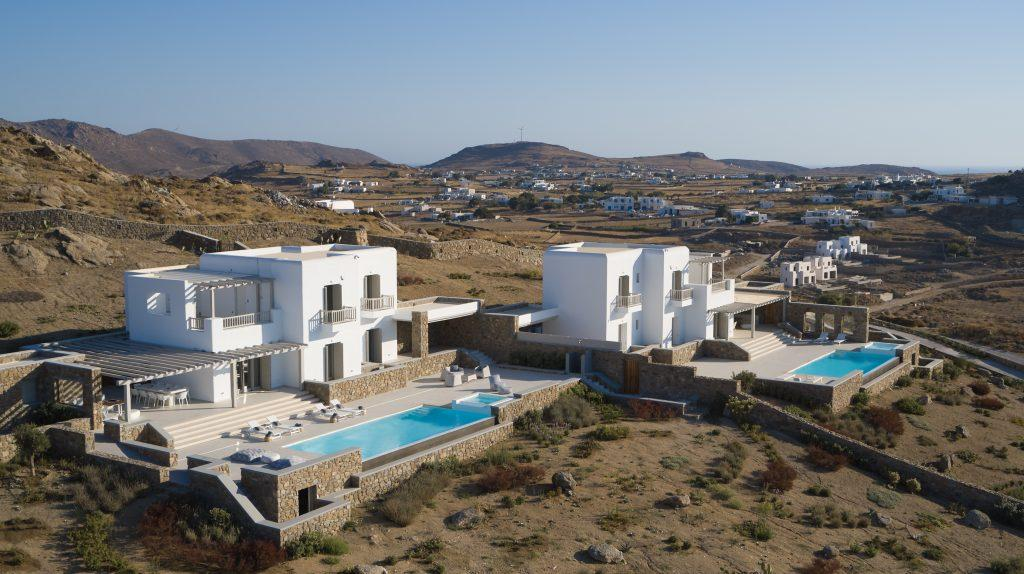 outside view on the villa and its capabilities
