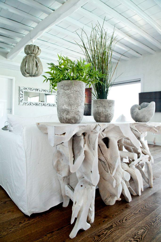 white walls of room with luxury details