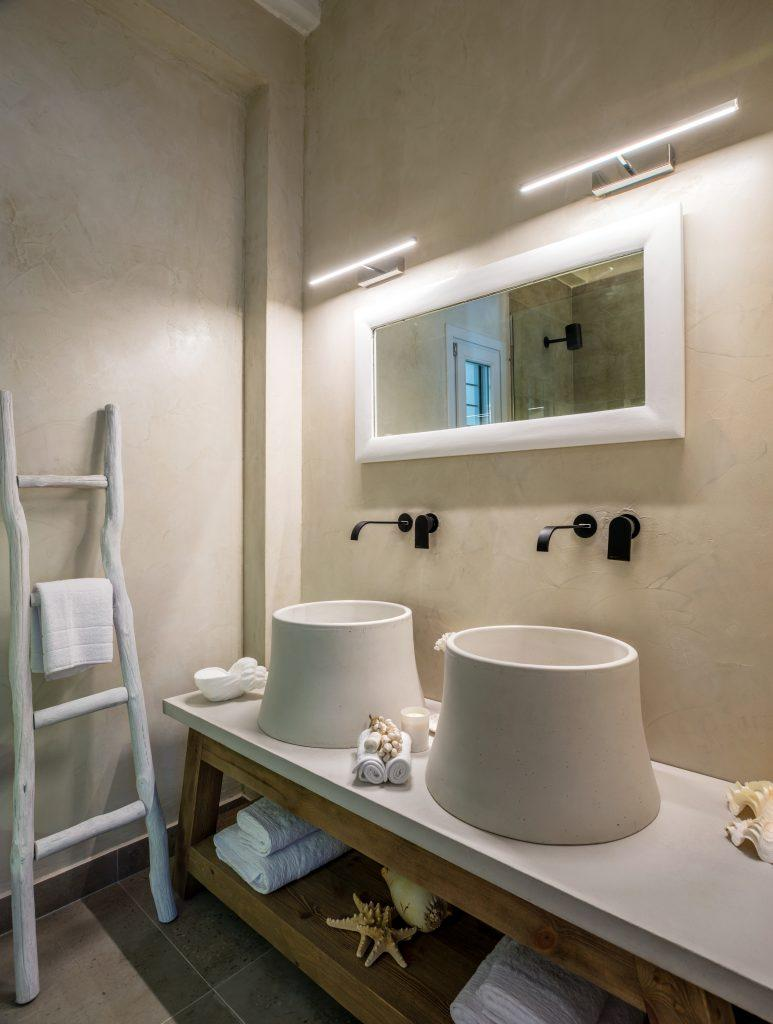 luxuriously designed bathroom ideal for two