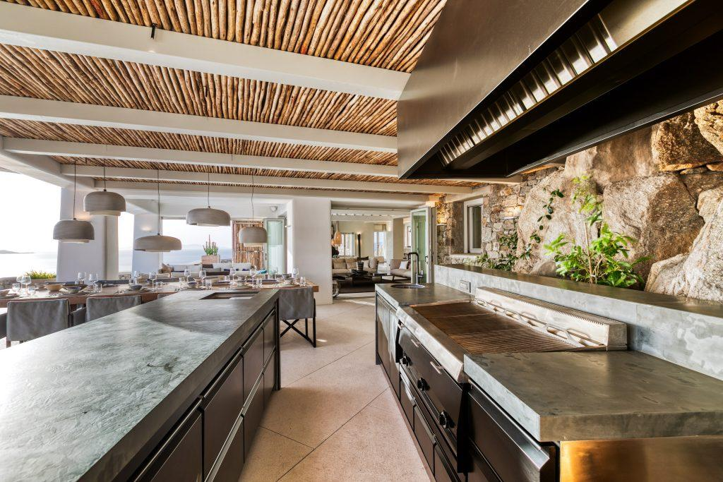 modern kitchen designed to prepare perfect meals