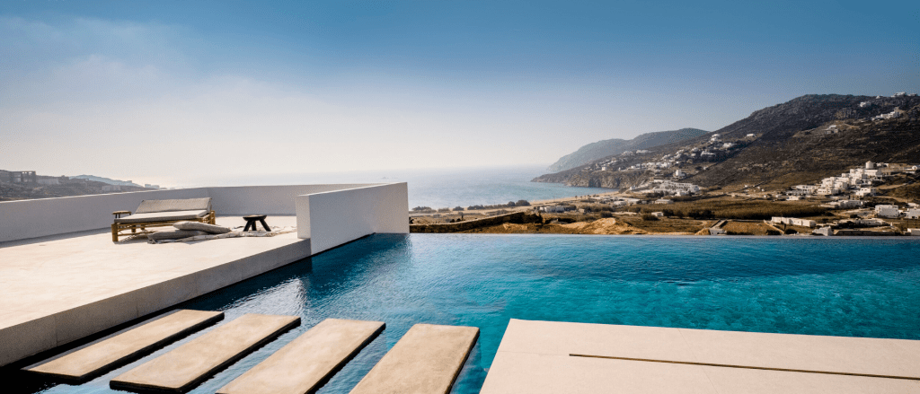 outdoor area with breathtaking view of island