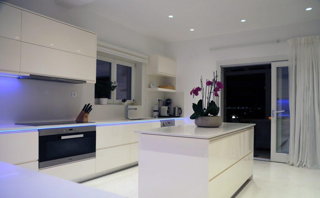 modern designed kitchen for enjoying every meal preparation
