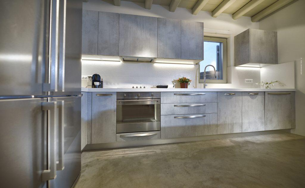 ultra modern designed kitchen with all of its equipment