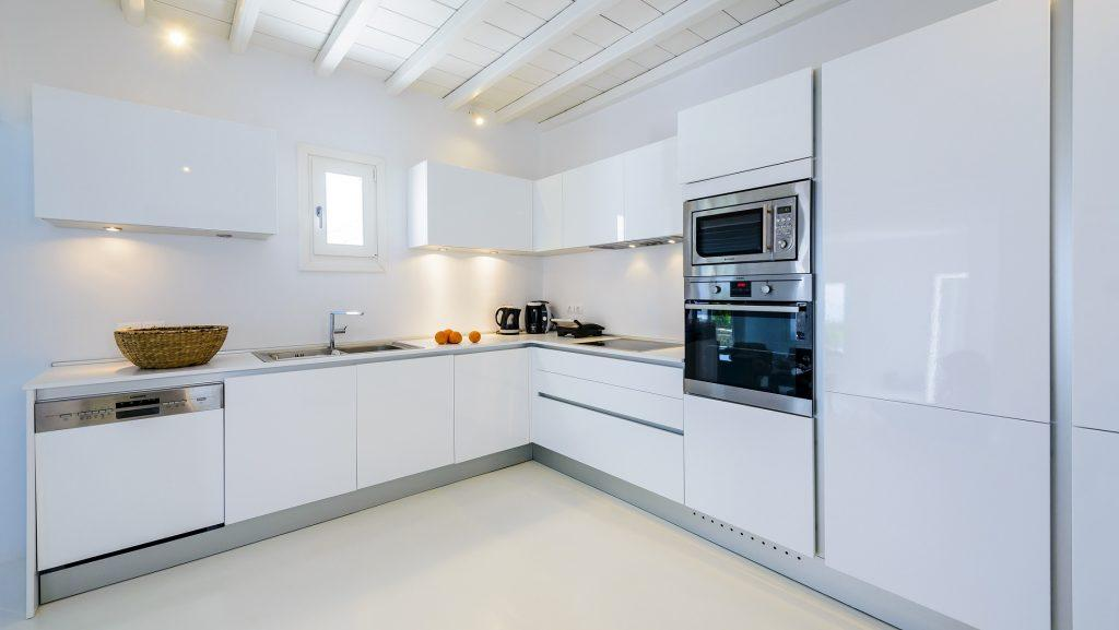 luxurious kitchen with all needed equipment to prepare perfect meals