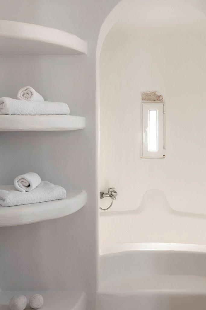bathroom for showering and cleaning