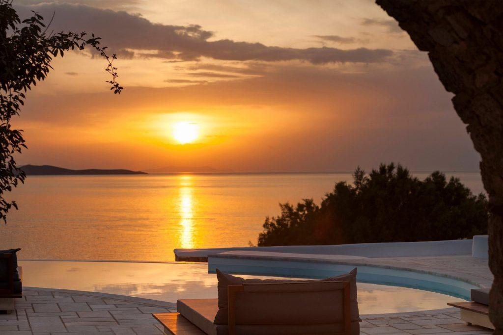 perfect place to watch the sunset while chilling