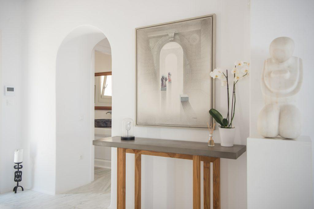 details that contribute to the luxury of the villa