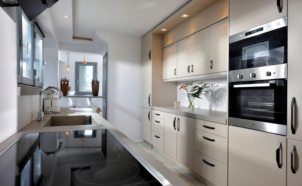 white kitchen walls with wooden elements ideal place for making delicious meals