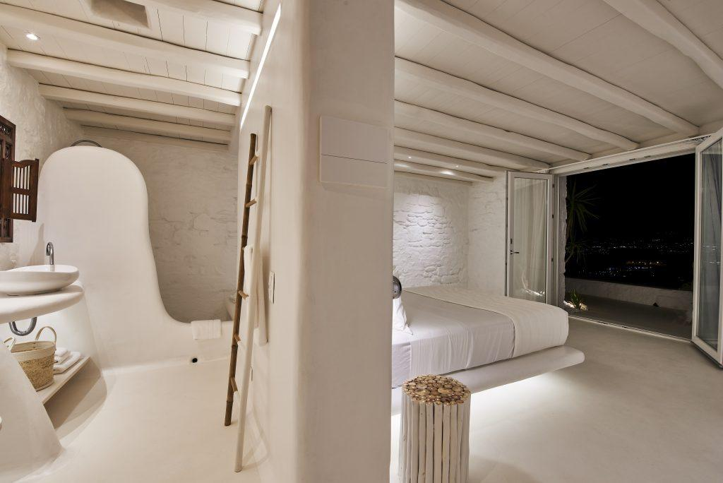 bedroom for two modernly arranged perfect for a romantic night