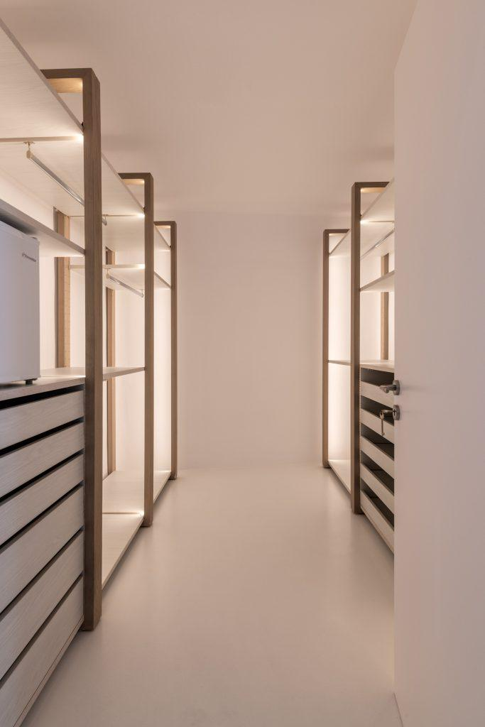 room with plenty of space to store shoes and clothes